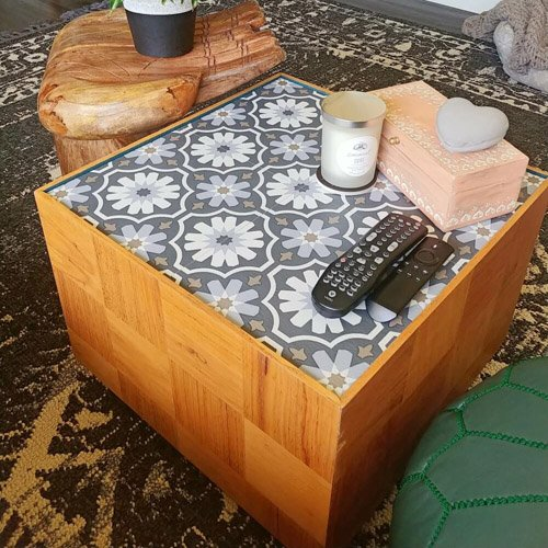 Upcycled Mid-Century Modern Coffee Table