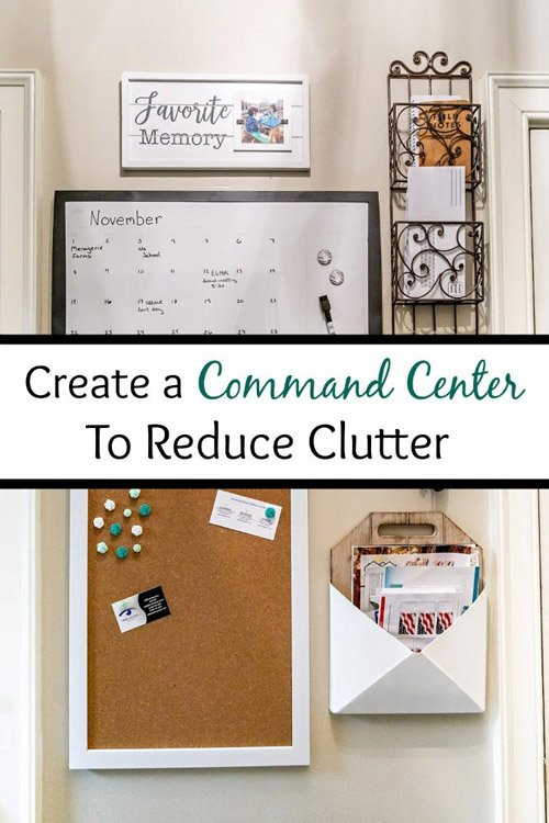 Amy from Health Home and Heart - Create a Command Center to Reduce Clutter