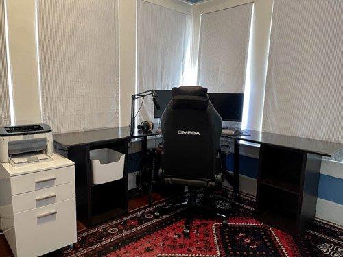 Andrea from Design Morsels - DIY Corner Desk