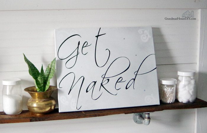 Make your own DIY custom canvas prints, don't throw those old canvas prints away that you don't want you can paint them over and make your own custom canvas prints and pictures! Making two great prints using wall decals from Amazon for my master bathroom after my divorce!