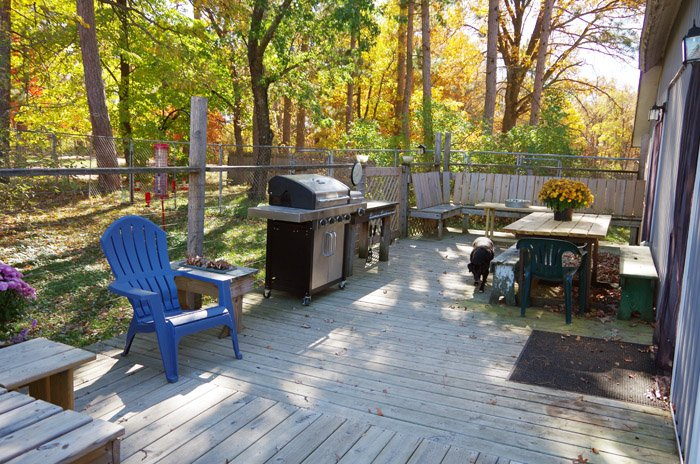 Deck Reveal with Updates and lots of new seating and additions! OMG Where on earth did this summer go so fast!? I can't believe its November