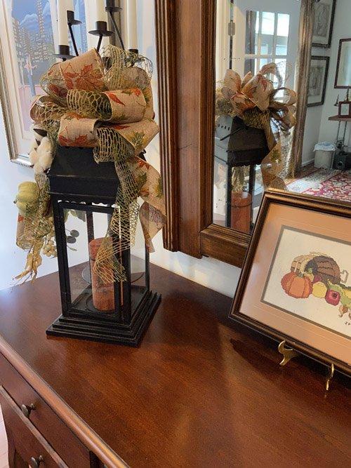 Lynne from Thrifting Wonderland - Fall Lantern DIY