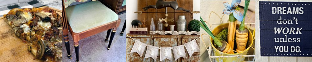 This link party is all about homemade, homemaking, DIY, recycling, upcycling, before and afters (of rooms, furniture, whatever) Wednesday Link Party #180