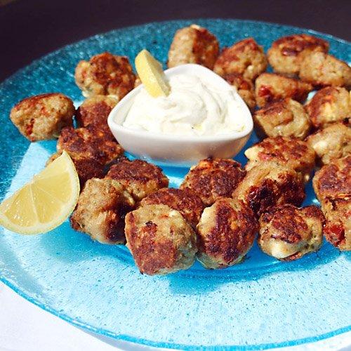 Memories of Greece Chicken Meatballs