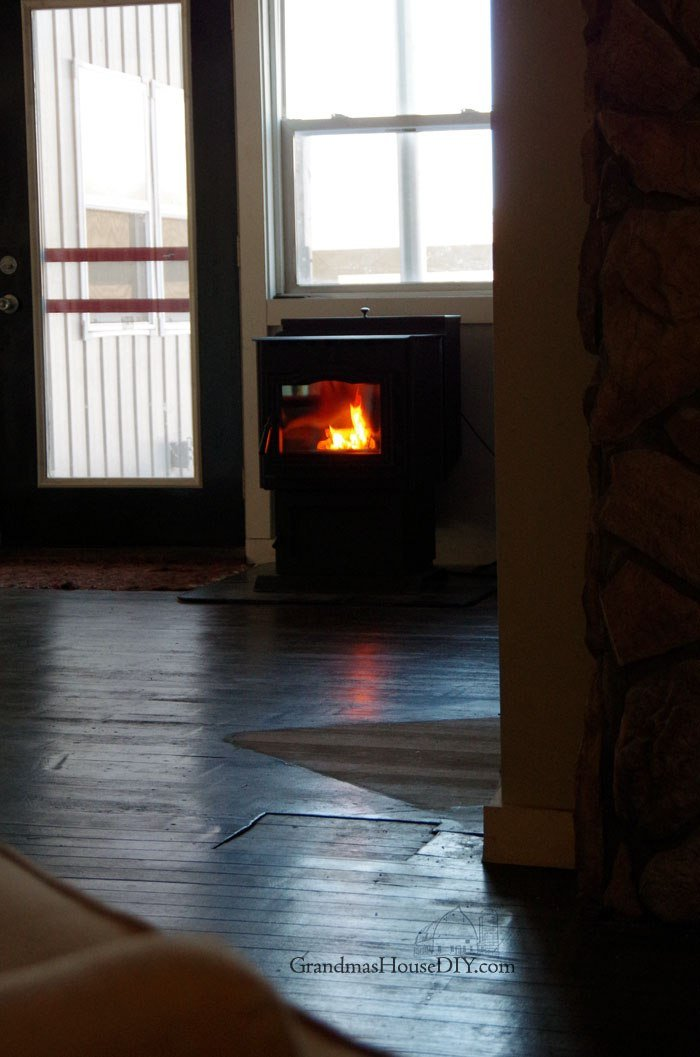 My harman pellet stove is incredibly clean burning, how I clean it, the glass, maintain it and the work involved in owning a pellet stove, I love it!