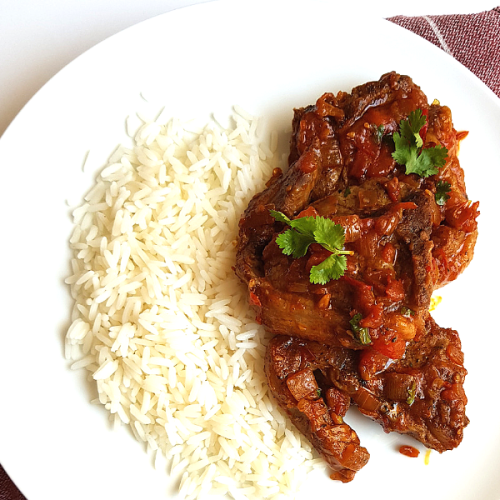 BEST LAMB CHOPS CHUTNEY RECIPE (DURBAN STYLE)- EASY SOUTH AFRICAN DINNER RECIPE