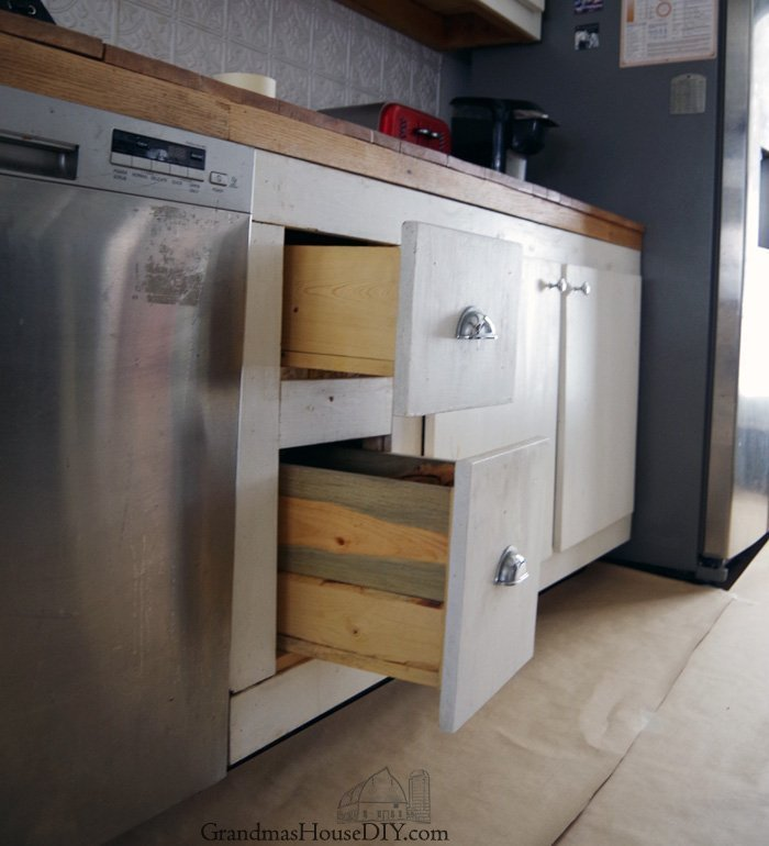 Adding Side Out Storage Solutions to My Lower Kitchen Cabinets