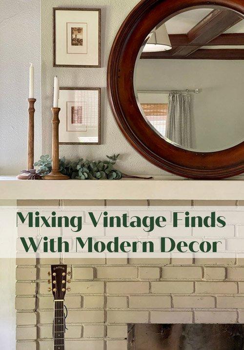 Andrea from Design Morsels - Vintage finds vs DIY