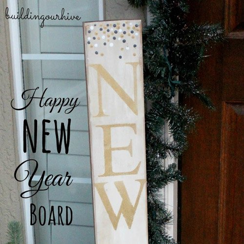 Happy New Year Board