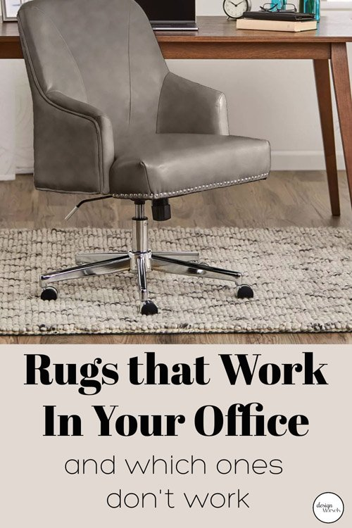 Andrea from Design Morsels - Rugs that Work in an Office (and those that don't!)
