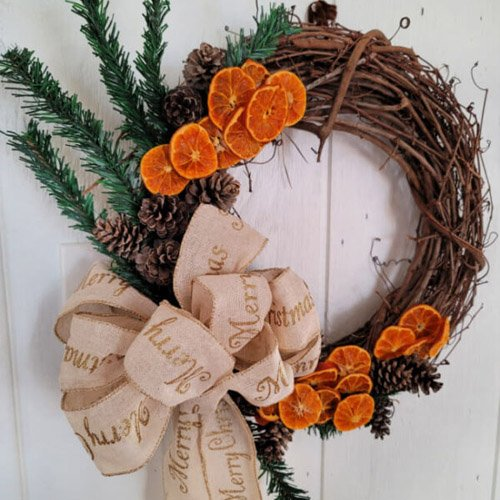 Dried Orange Slice Wreath