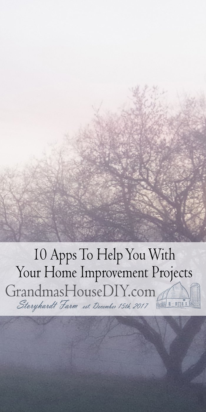 Well this is a fun list - I didn't even know about most of these! OMG how these apps could have helped me so much during the renovation.