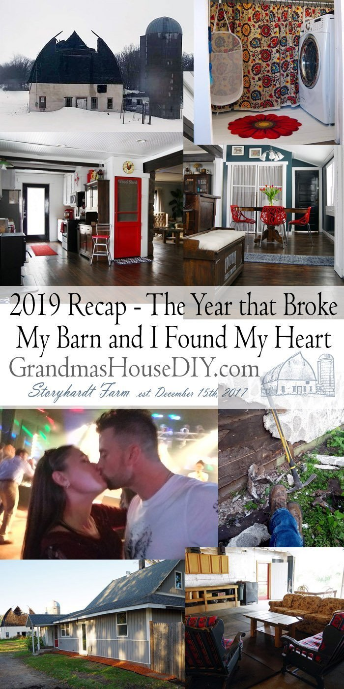 2019 Recap, a winter that broke my barn and a fall where I found my heart, After my divorce I am in a place of happiness now where I never thought possible