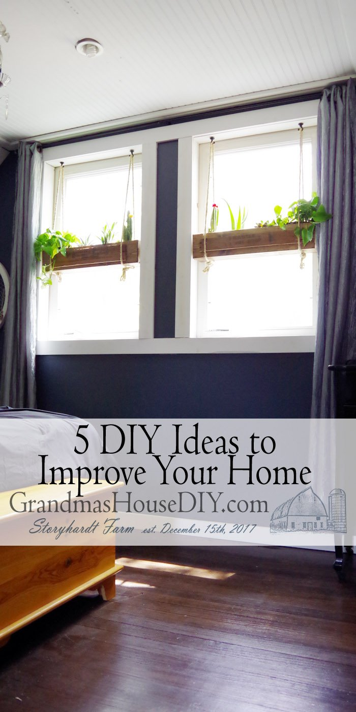 There are so many great DIY ideas out there to improve your home from novice remodelers to veteran DIYers there really isn't any end