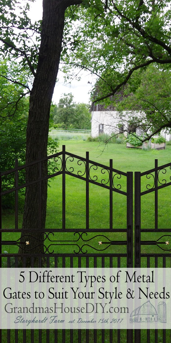 Gates are one of the first things that a person would notice in a home. Metal gates are known to be much more durable than your standard wooden gate