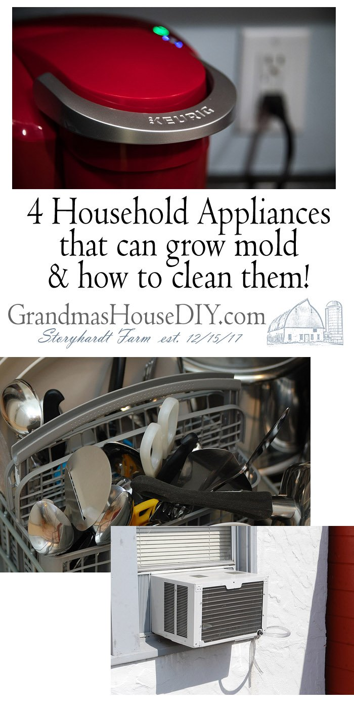 When you think of mold in the home, your mind probably goes straight to the bathroom or the basement. Those are definitely the places where it's most visible, but it's also growing in all sorts of hidden nooks and crannies — including the inside of your appliances.