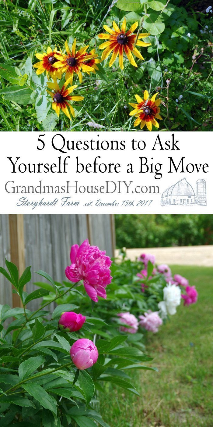 Here are some of the big questions you should ask yourself before you begin a big move.  And save some time and money in the process.