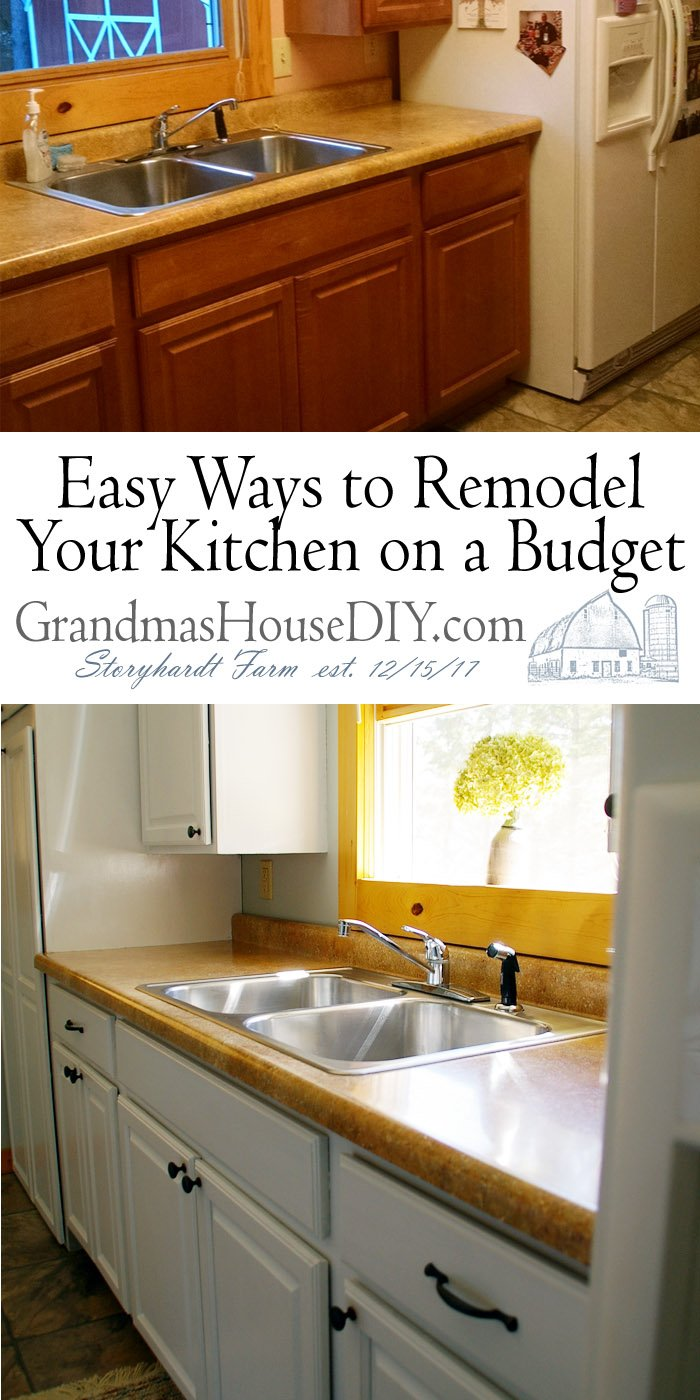 Whether you're getting ready to sell your house or just preparing for the future, how to remodel your kitchen on a budget and add easy value to your home.