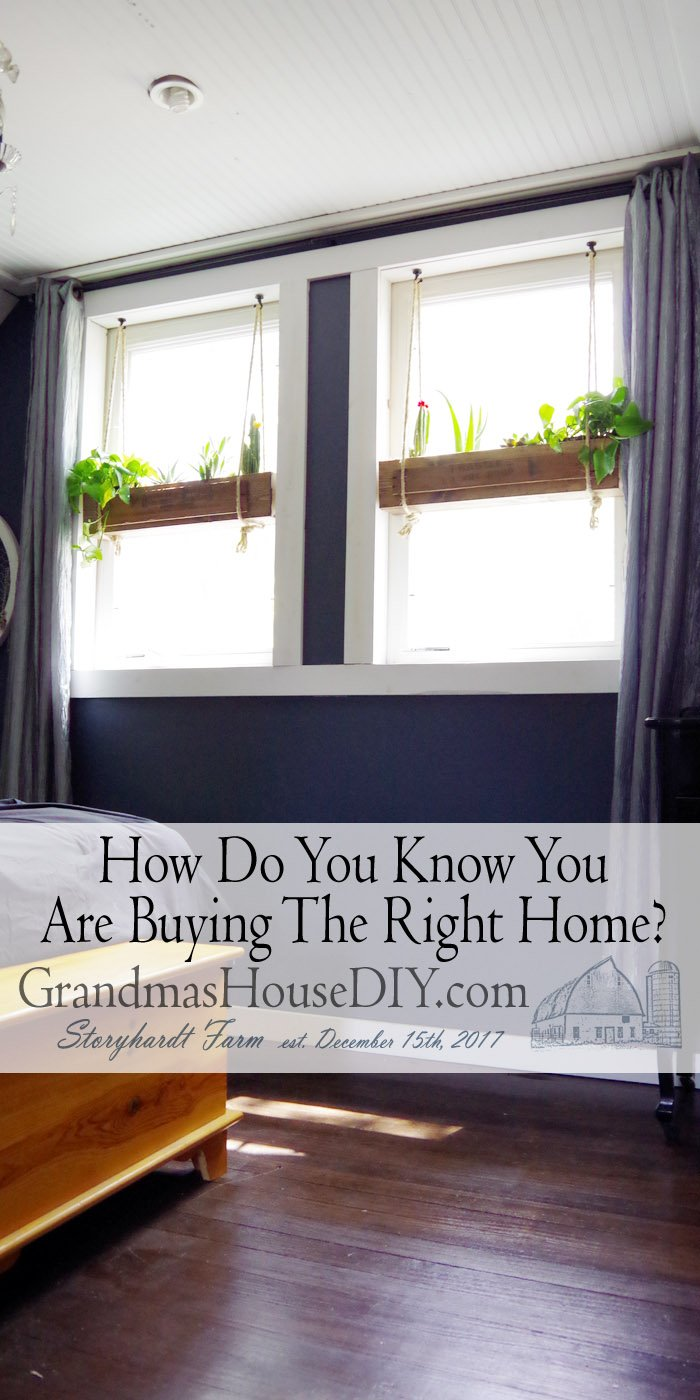 I think when it comes to buying the right home location is probably the biggest one that comes to my mind. A home can be changed,