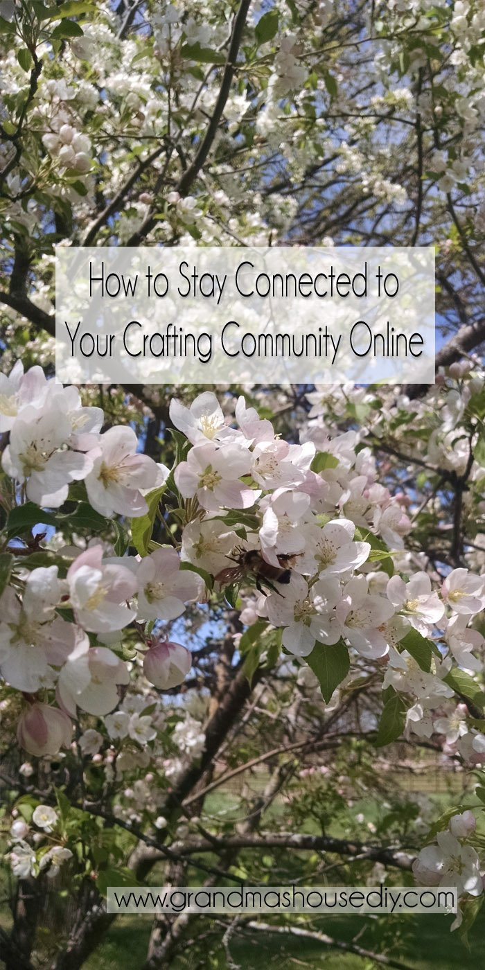 Crafting Communities. Finding ways to be social changed a lot for many people over the last couple of years. Though I think many of us have