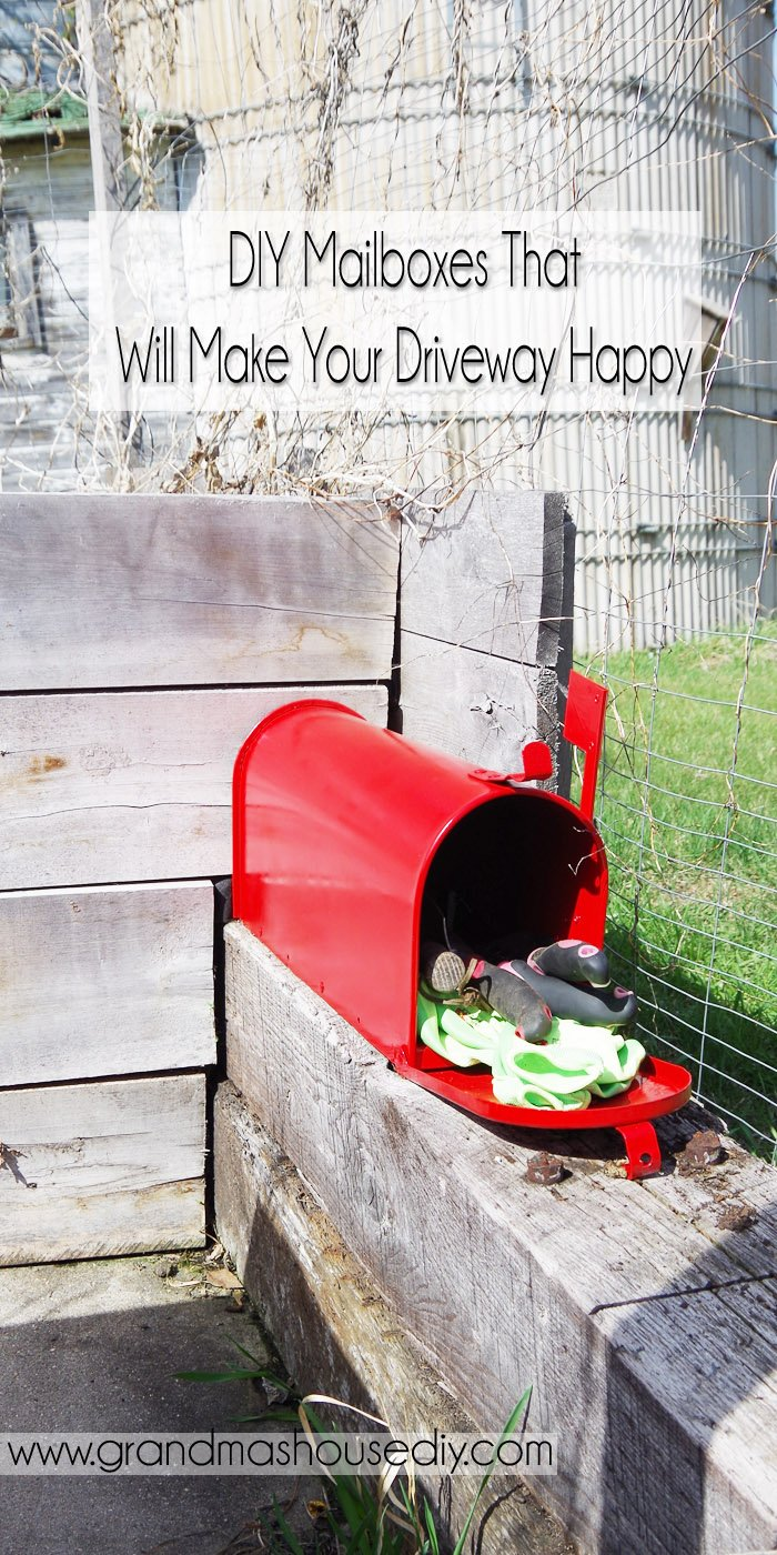 Mailboxes can be SO much fun! I love all the DIYs I've seen on Pinterest over the years. My Grandma had a real thing for loons.