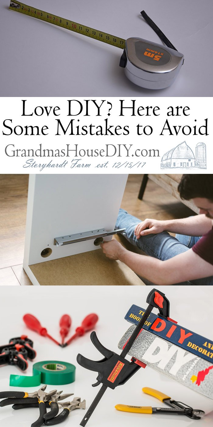 DIY can turn out to be a huge money saver when you need it the most unless you make these common mistakes, here's how to avoid them!