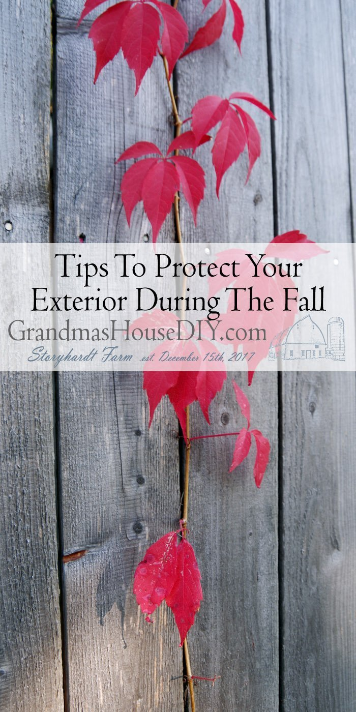 Here are some tips to protect your exterior during the fall. Preparing your home for winter and autumn with these DIY tips and how tos