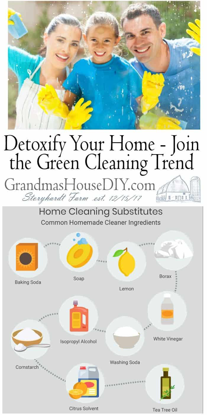 The DIY, homemade, green cleaning and all-natural cleaning worlds are sounding the alarm bells on commercial chemical cleaners found in stores. It's no secret that commercial cleaning agents can be harmful to your health. All you have to do is smell them and read the warnings on their labels.