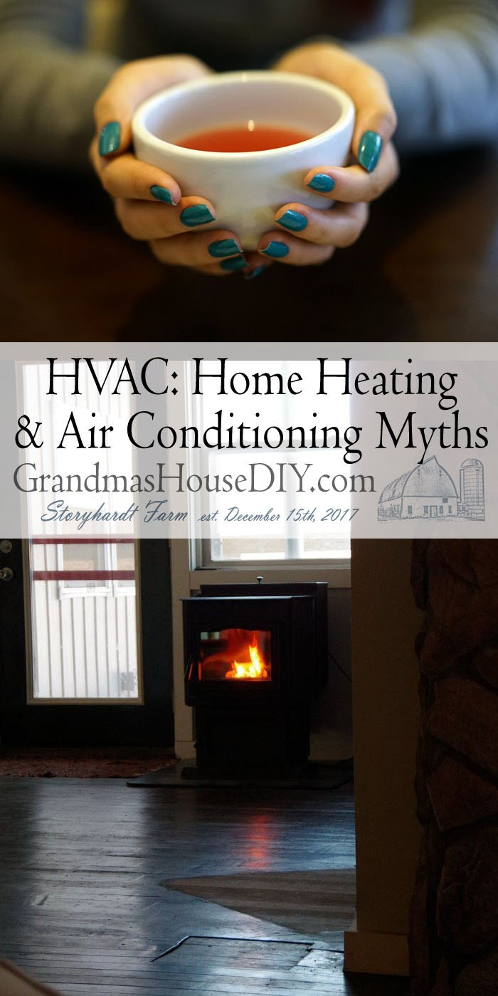 Like old wives' tales, home heating and air conditioning myths abound on the internet and in family lore. Many of these misconceptions are based on outdated