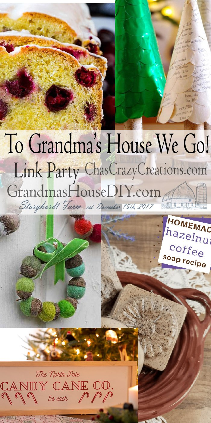 This link party is all about homemade, homemaking, DIY, recycling, upcycling, before and afters (of rooms, furniture, whatever) Wednesday Link Party #167