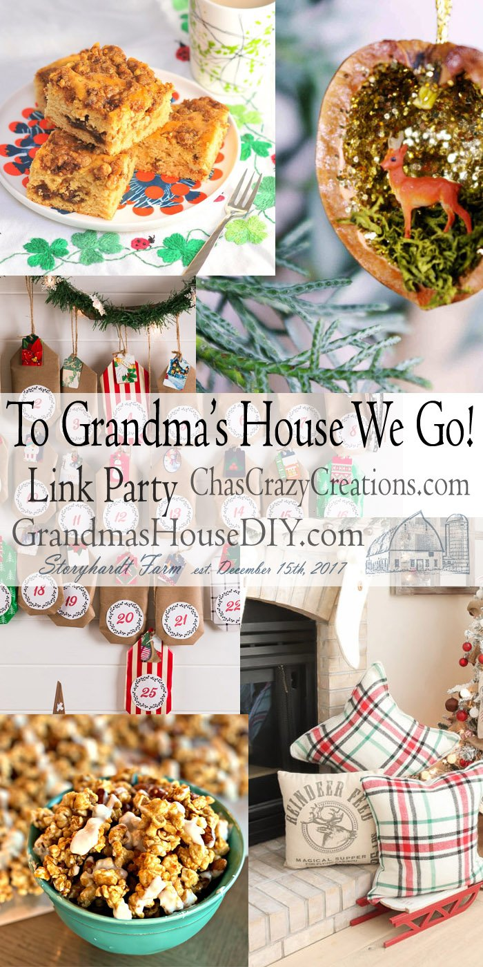 This link party is all about homemade, homemaking, DIY, recycling, upcycling, before and afters (of rooms, furniture, whatever) Wednesday Link Party #170
