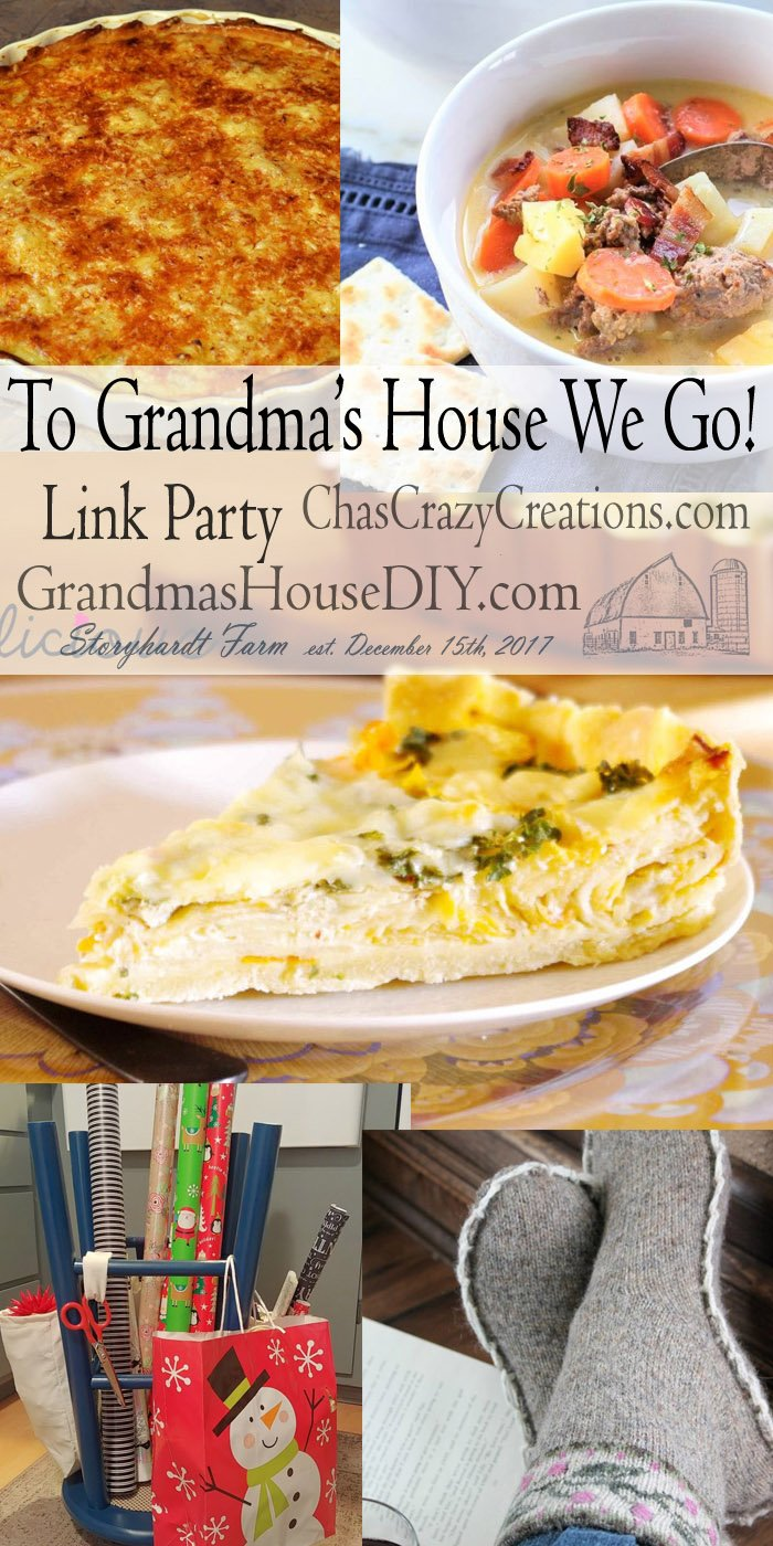 This link party is all about homemade, homemaking, DIY, recycling, upcycling, before and afters (of rooms, furniture, whatever) Wednesday Link Party #174