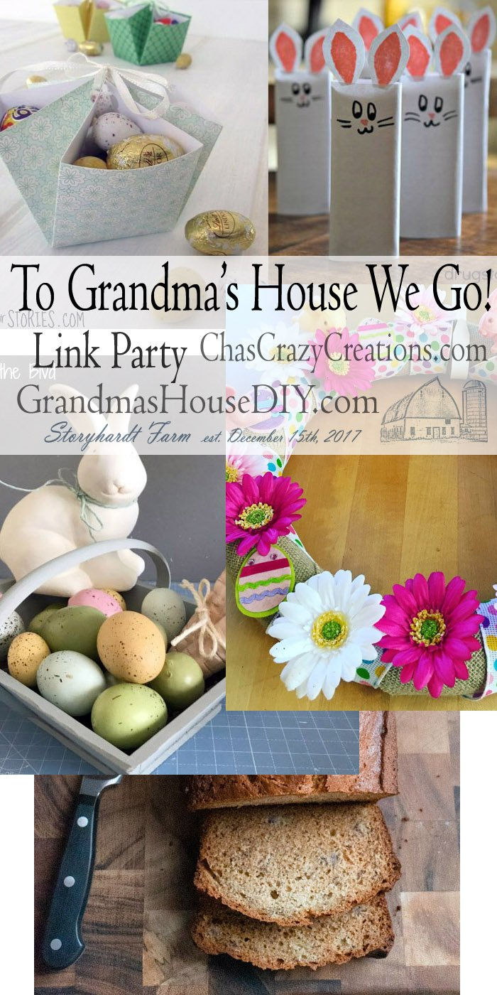 This link party is all about homemade, homemaking, DIY, recycling, upcycling, before and afters (of rooms, furniture, whatever) Wednesday Link Party #185