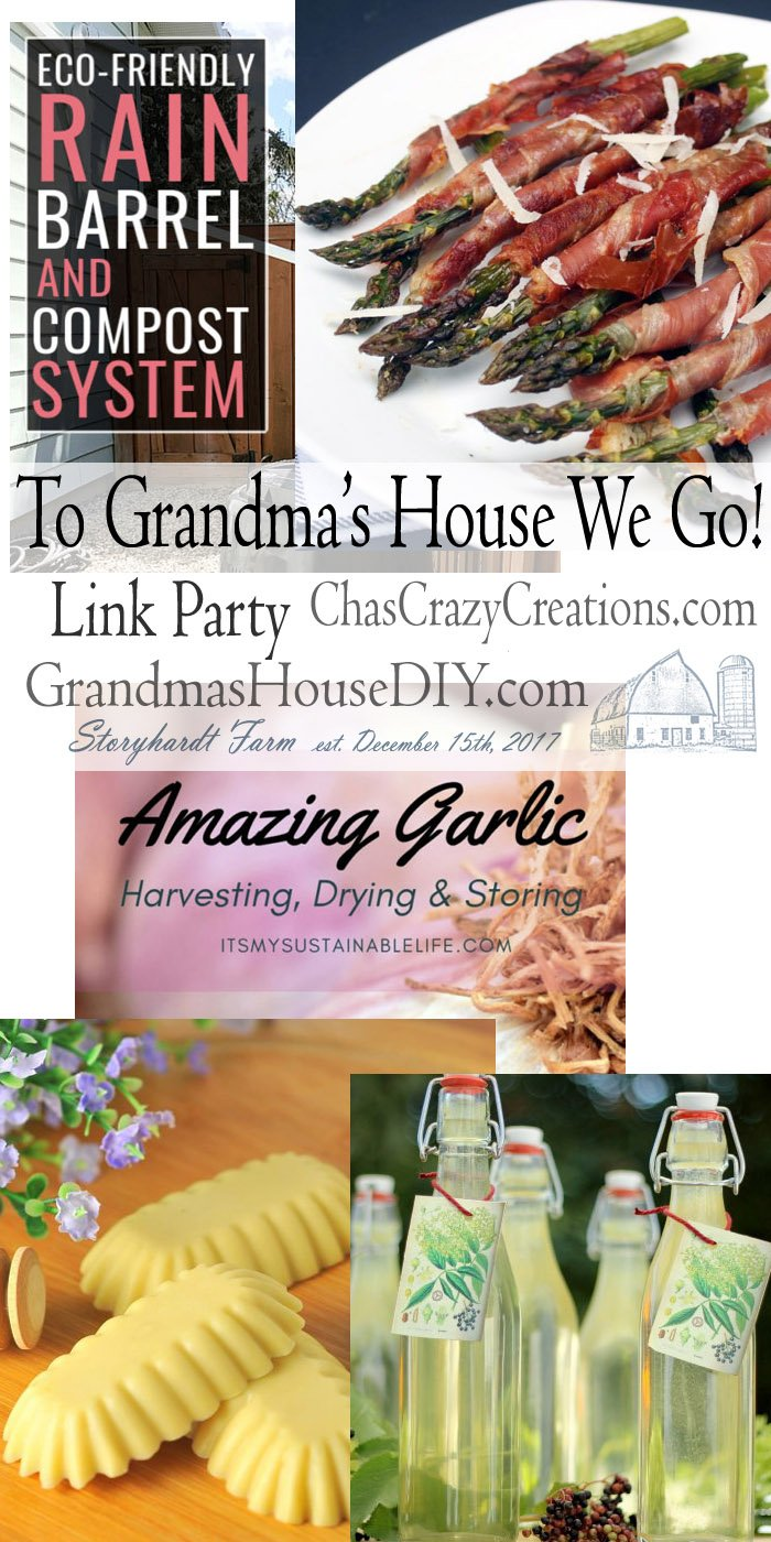 This link party is all about homemade, homemaking, DIY, recycling, upcycling, before and afters (of rooms, furniture, whatever) Wednesday Link Party #194