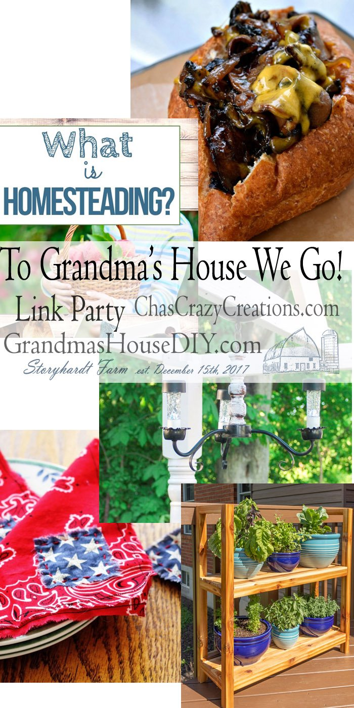 This link party is all about homemade, homemaking, DIY, recycling, upcycling, before and afters (of rooms, furniture, whatever) Wednesday Link Party #197