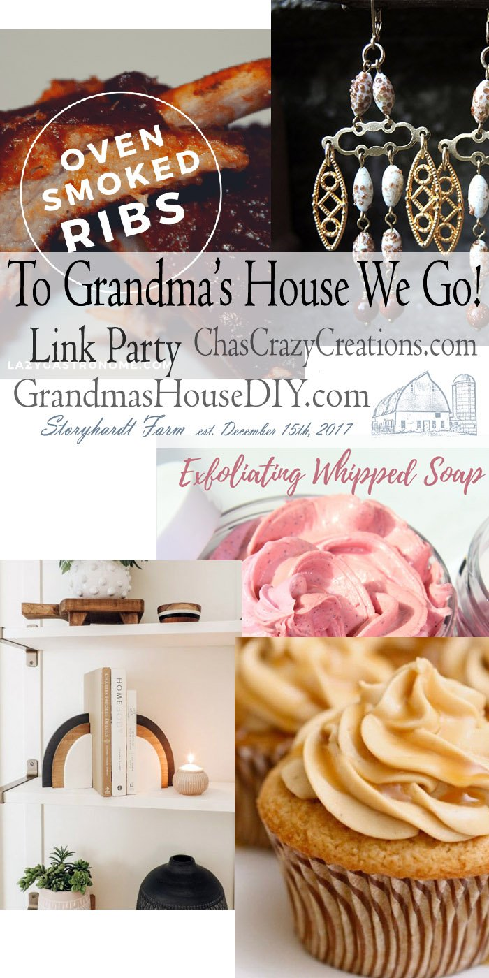 This link party is all about homemade, homemaking, DIY, recycling, upcycling, before and afters (of rooms, furniture, whatever) Wednesday Link Party #200