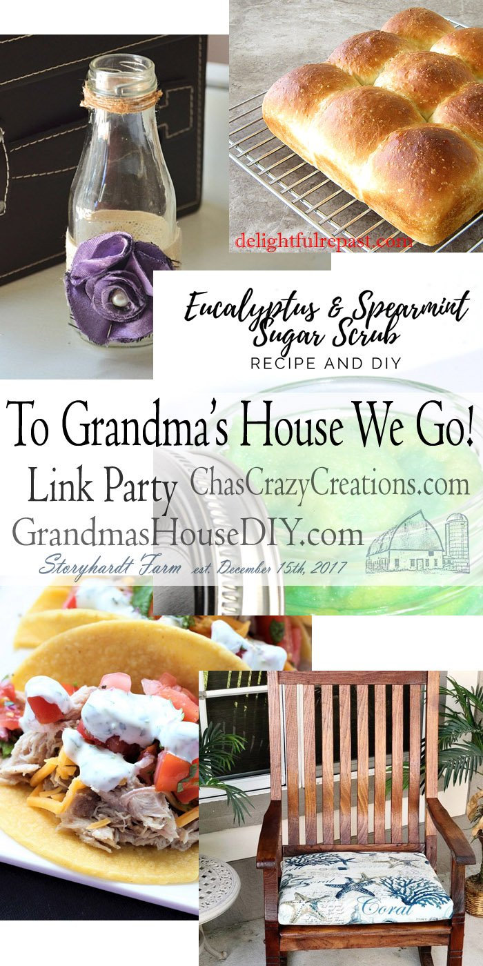 This link party is all about homemade, homemaking, DIY, recycling, upcycling, before and afters (of rooms, furniture, whatever) Wednesday Link Party #201
