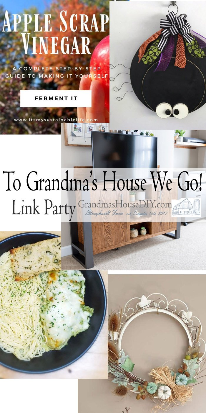 This link party is all about homemade, homemaking, DIY, recycling, upcycling, before and afters (of rooms, Wednesday Link Party #213