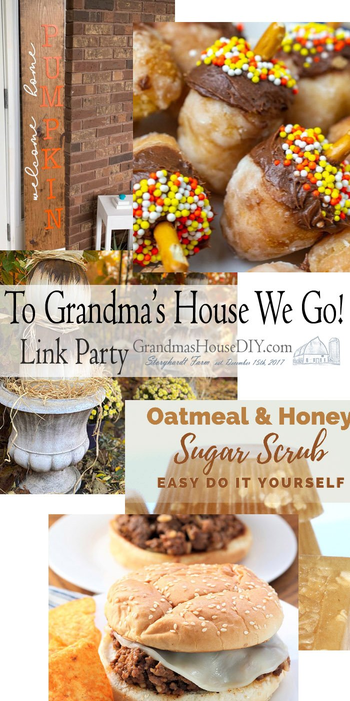 This link party is all about homemade, homemaking, DIY, recycling, upcycling, before and afters (of rooms, Wednesday Link Party #214