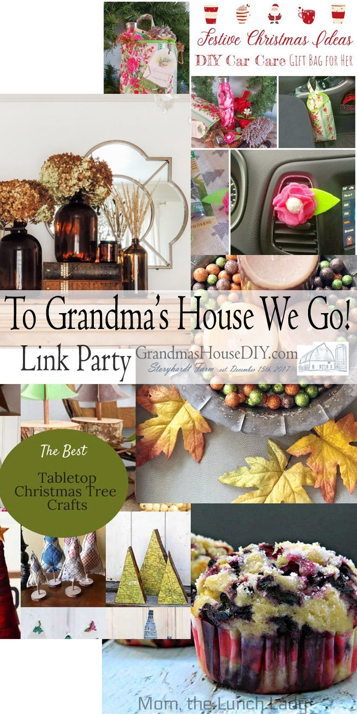 This link party is all about homemade, homemaking, DIY, recycling, upcycling, before and afters (of rooms, Wednesday Link Party #216