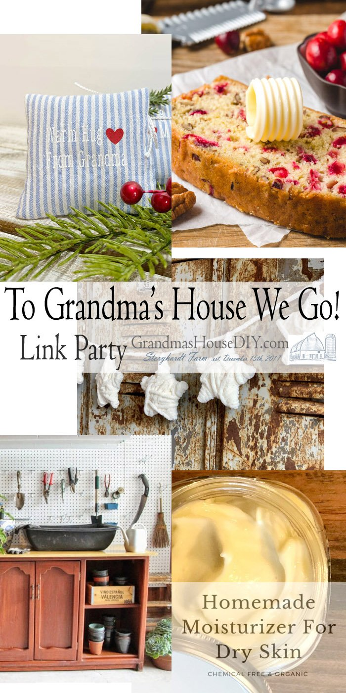 This link party is all about homemade, homemaking, DIY, recycling, upcycling, before and afters (of rooms, Wednesday Link Party #217
