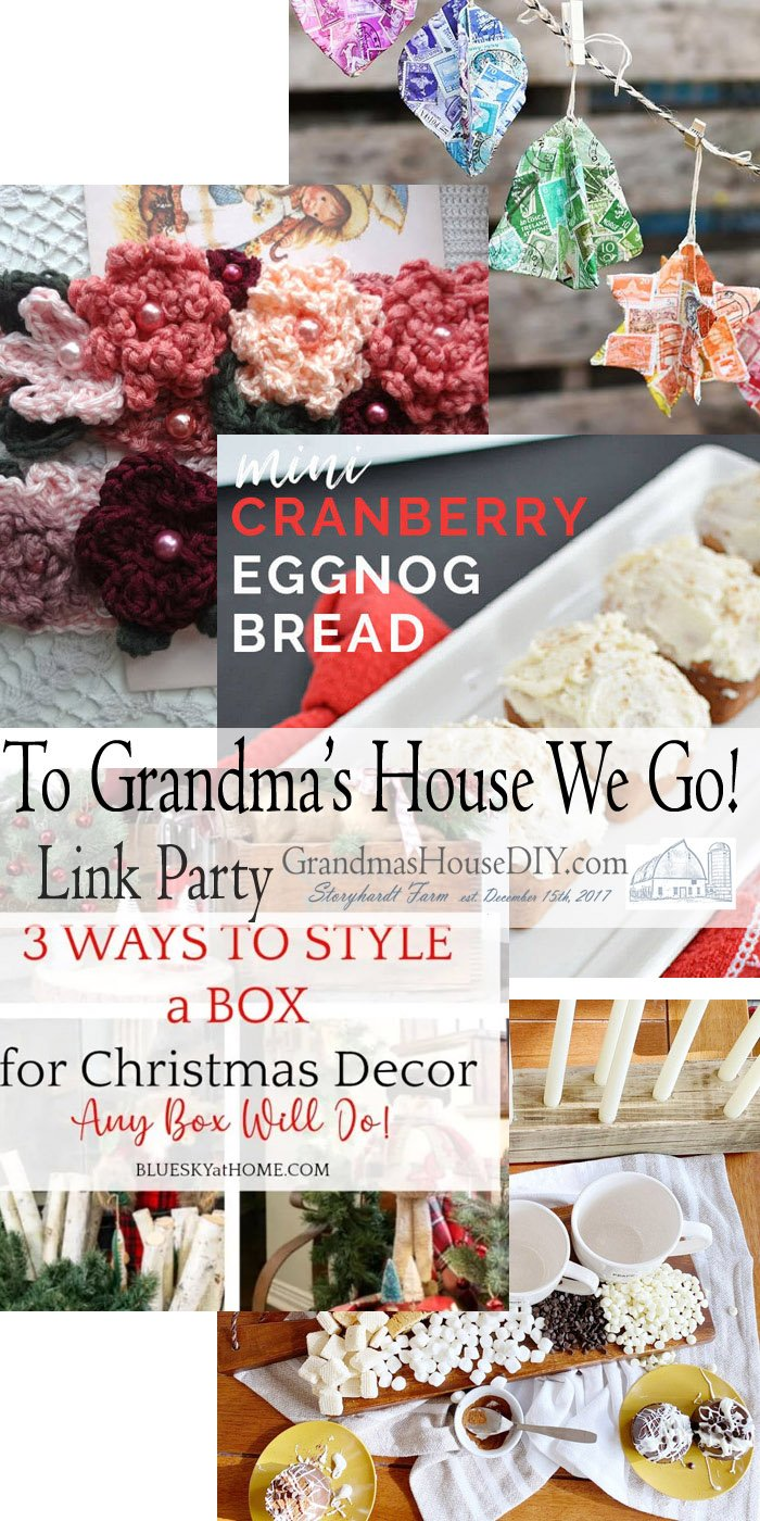 This link party is all about homemade, homemaking, DIY, recycling, upcycling, before and afters (of rooms, Wednesday Link Party #220