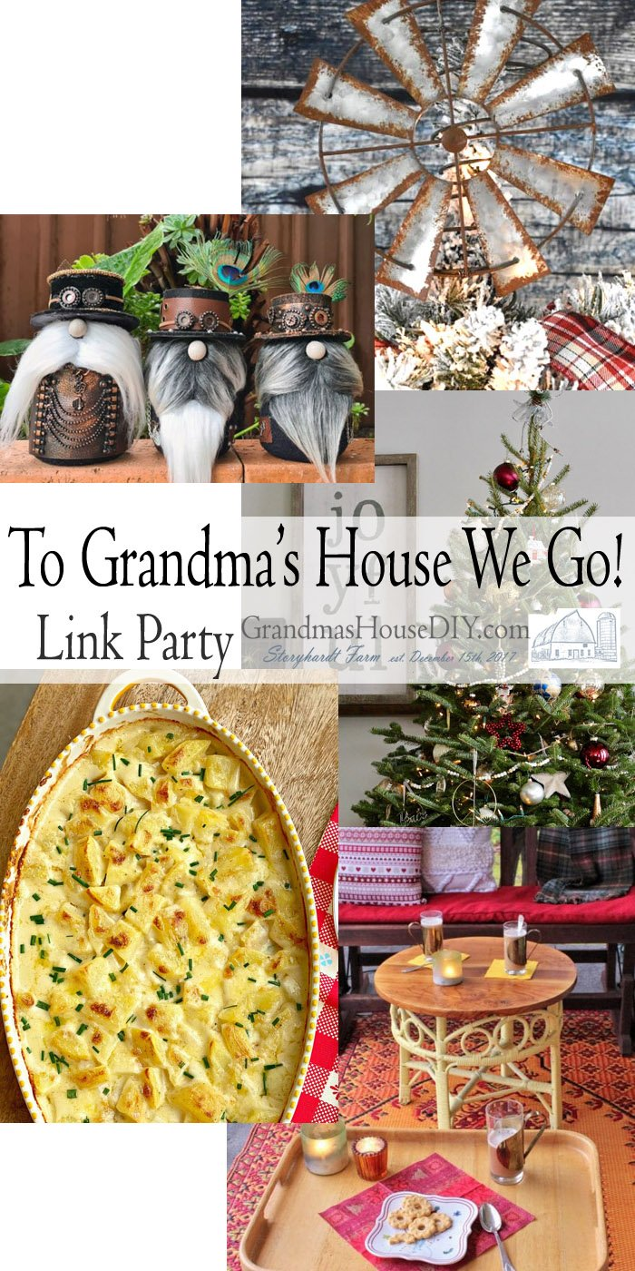 This link party is all about homemade, homemaking, DIY, recycling, upcycling, before and afters (of rooms, Wednesday Link Party #221