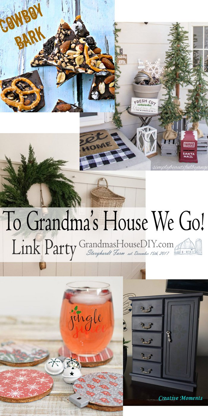 This link party is all about homemade, homemaking, DIY, recycling, upcycling, before and afters (of rooms, Wednesday Link Party #223