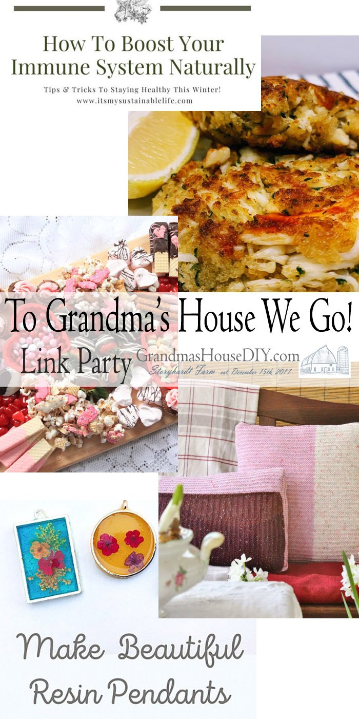 This link party is all about homemade, homemaking, DIY, recycling, upcycling, before and afters (of rooms, Wednesday Link Party #228