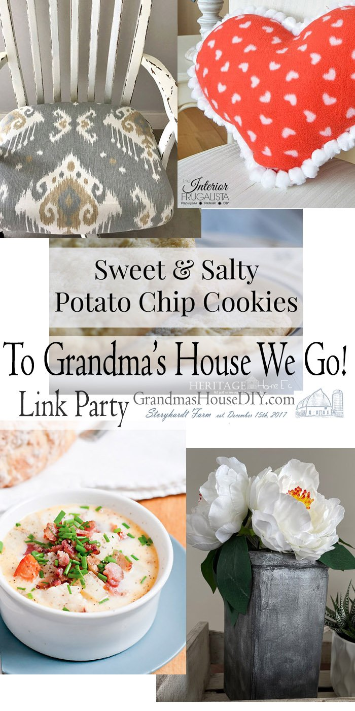 This link party is all about homemade, homemaking, DIY, recycling, upcycling, before and afters (of rooms, Wednesday Link Party #230