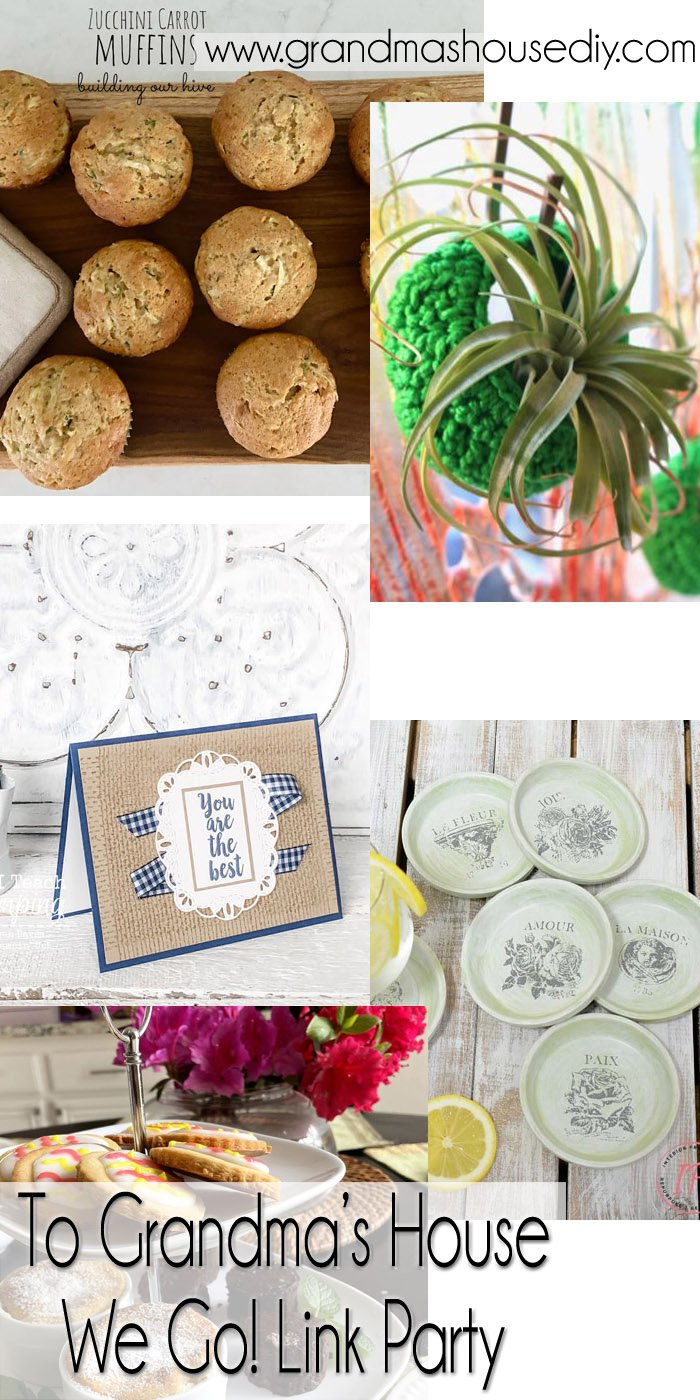 This link party is all about homemade, homemaking, DIY, recycling, upcycling, before and afters (of rooms, Wednesday Link Party #240