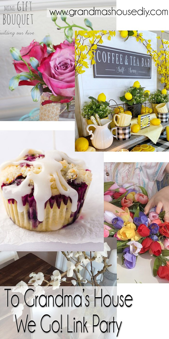This link party is all about homemade, homemaking, DIY, recycling, upcycling, before and afters (of rooms, Wednesday Link Party #244
