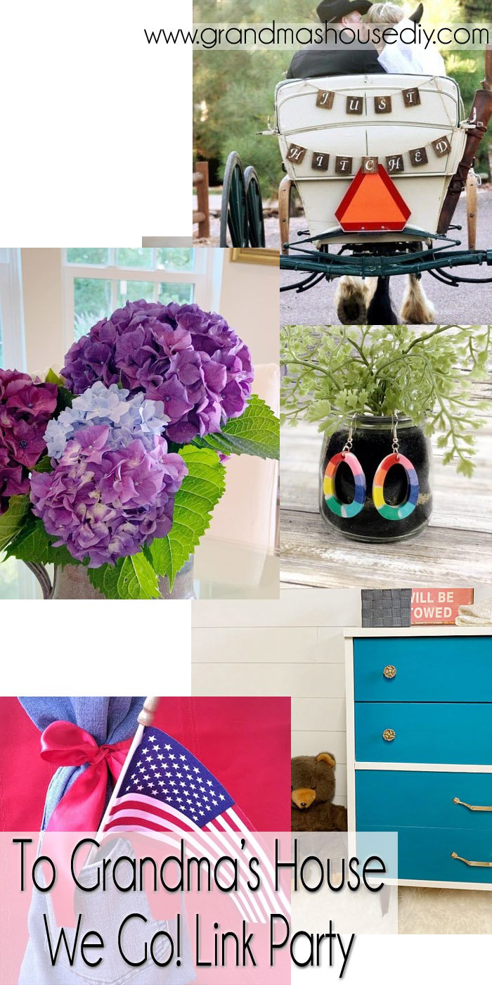 This link party is all about homemade, homemaking, DIY, recycling, upcycling, before and afters (of rooms, Wednesday Link Party #249