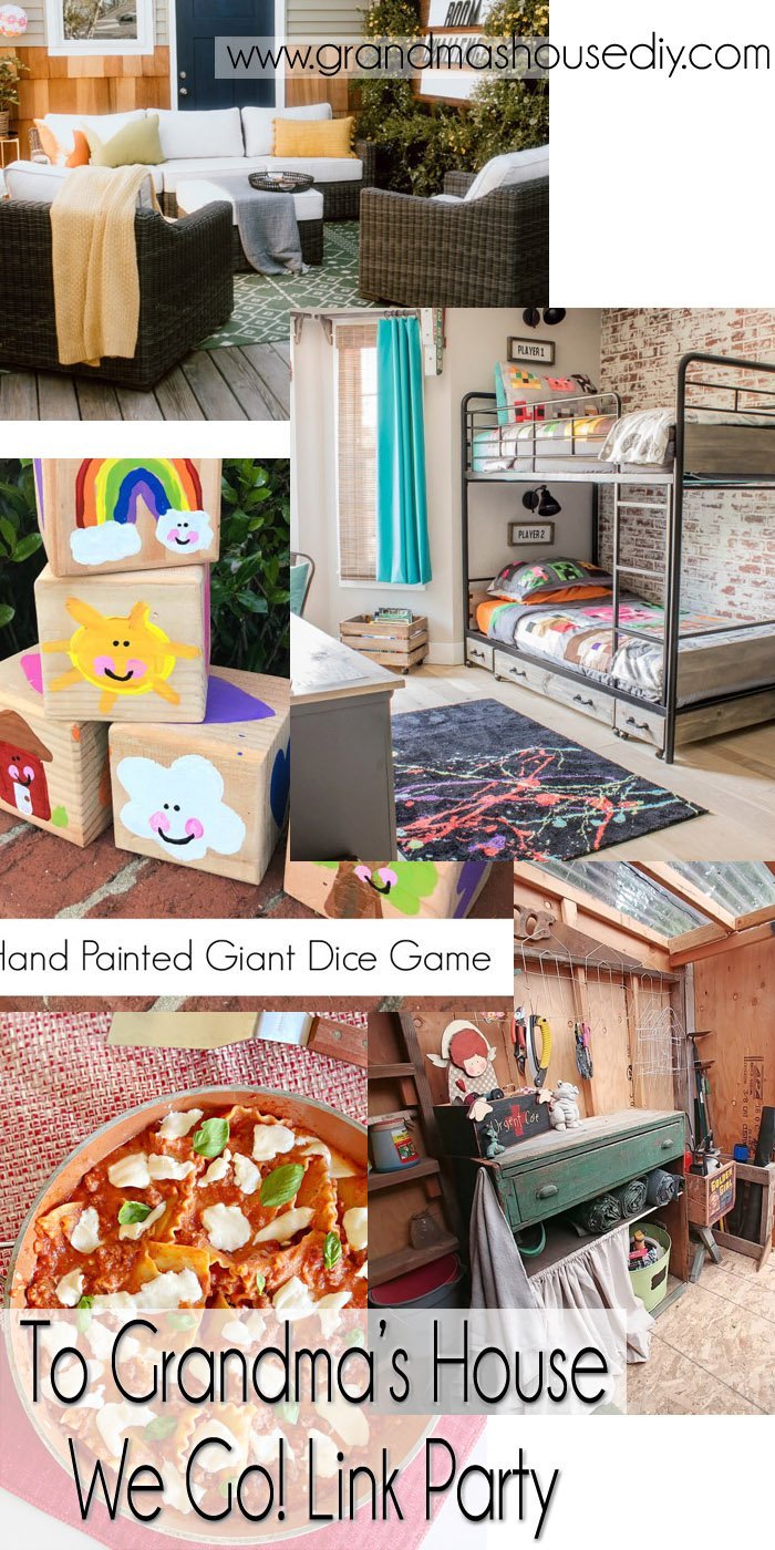 This link party is all about homemade, homemaking, DIY, recycling, upcycling, before and afters (of rooms, Wednesday Link Party #251